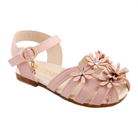 Kids Sandals, For Girls, 20-10, Pink