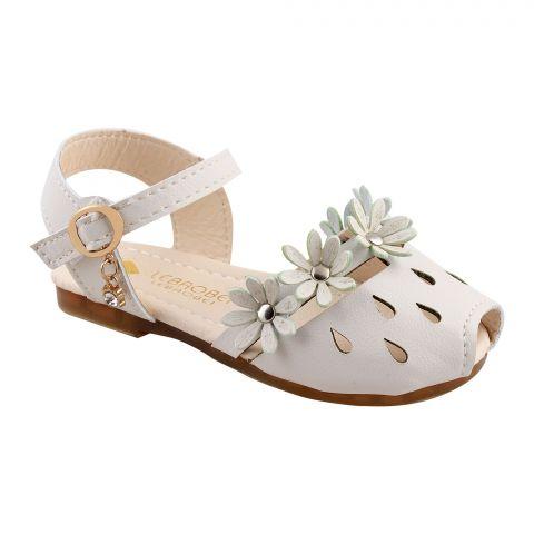 Kids Sandals, For Girls, 20-8, Beige
