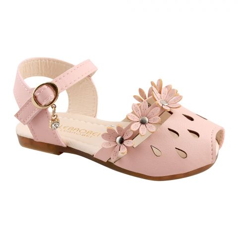 Kids Sandals, For Girls, 20-8, Pink