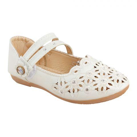 Kids Sandals, For Girls, A-01, Beige