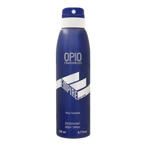 Opio Empire Pour Homme Deodorant Body Spray, For Men, 200ml