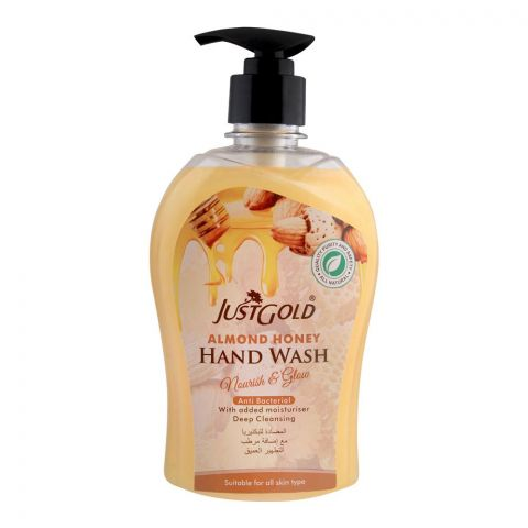 Just Gold Almond Honey Anti-Bacterial Hand Wash, 500ml
