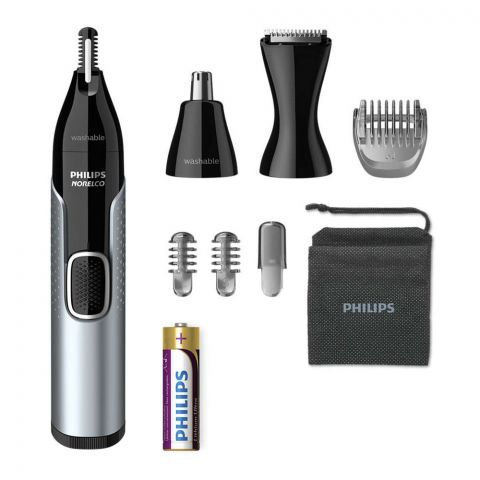 Philips Norelco 5000 Nose Trimmer, Nose, Ears, Brows & Detail, NT5600/42