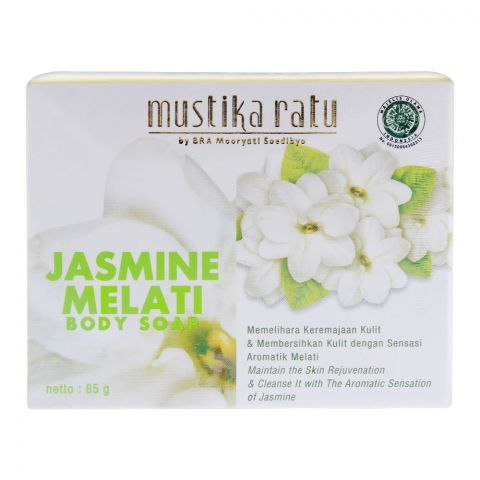 Mustika Ratu Jasmine Body Soap, 85g