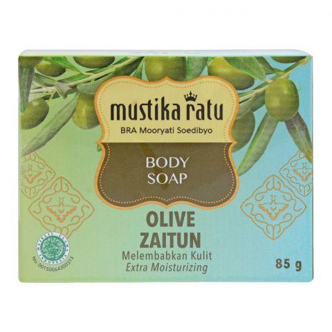 Mustika Ratu Olive Body Soap, 85g