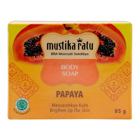 Mustika Ratu Papaya Body Soap, 85g
