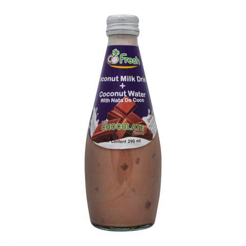 CoFresh Coconut Milk Drink, Chocolate, Bottle, 290ml
