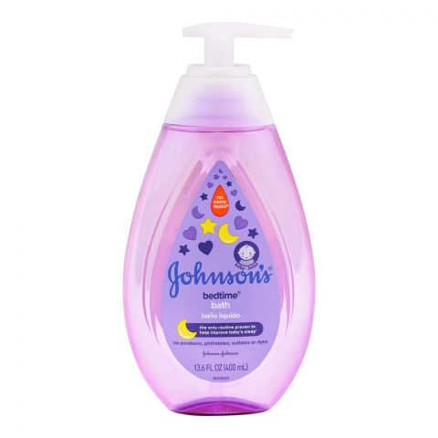 Johnson's Bedtime Baby Bath, Paraben & Sulfate Free, USA, 400ml