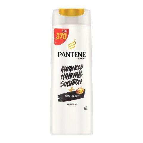 Pantene Advanced Hairfall Solution + Deep Black Shampoo, 360ml