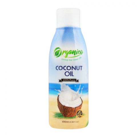 Organico Coconut Oil, 100ml, Bottle