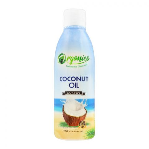 Organico Coconut Oil, 200ml, Bottle
