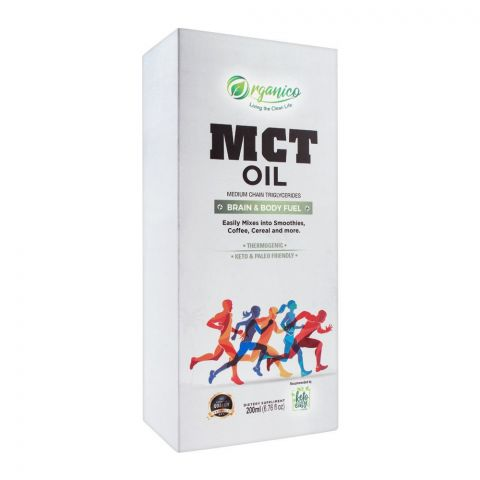 Organico MCT Oil, 200ml
