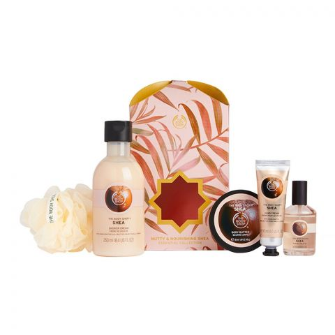 The Body Shop Nutty & Nourishing Shea Essential Collection Gift Set, 91869