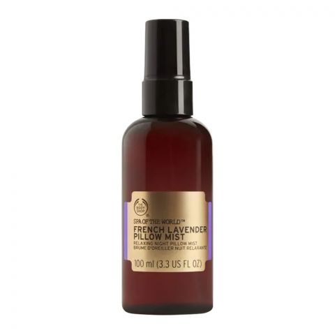 The Body Shop Spa Of The World French Lavender Pillow Mist, 100ml