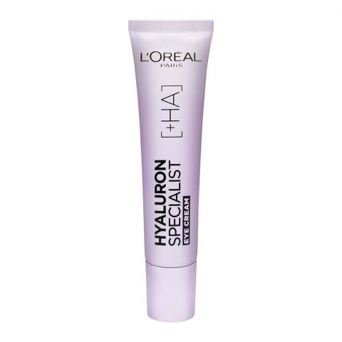 L'Oreal Paris Hyaluron Expert Replumping Moisturizing Care Eye Cream, 15ml