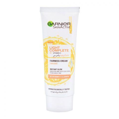 Garnier Skin Active Light Complete Vitamin C Instant Glow Fairness Cream, 40ml