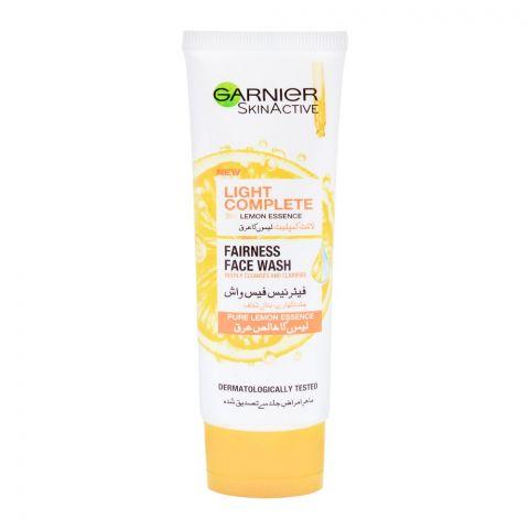 Garnier Skin Active Light Complete Lemon Essence Fairness Face Wash, 50ml