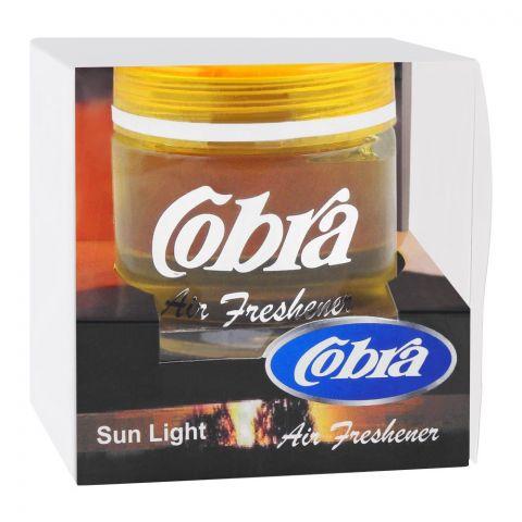 Cobra Glass Gel Air Freshener, Sun Light, 60ml