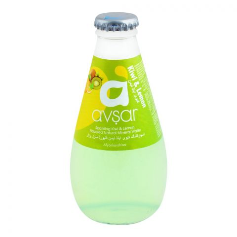 Avsar Sparkling Kiwi & Lemon Natural Mineral Water 200ml