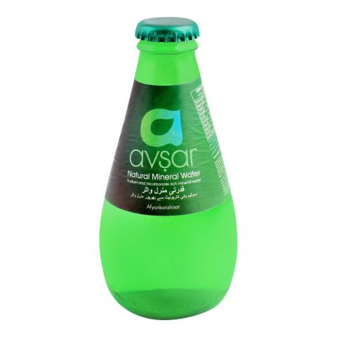 Avsar Natural Mineral Water, 200ml