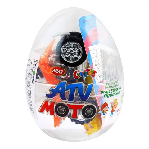 Aras Candy Toys, ATV Moto, Toys & Candies, 10g