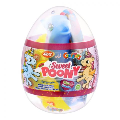 Aras Candy Toys, Sweet Poony, Toys & Candies, 10g