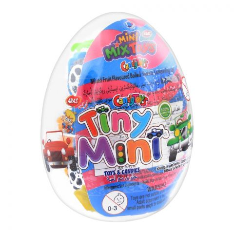 Aras Candy Toys, Tiny Mini, Toys & Candies, 10g