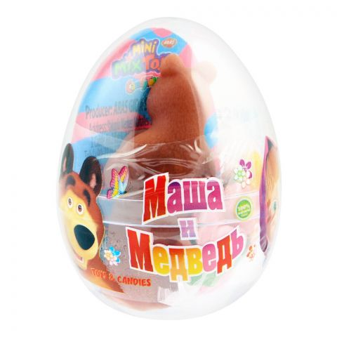 Aras Candy Toys, Masha & Bear, Toys & Candies, 10g