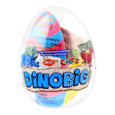 Aras Candy Toys, Dino Big, Toys & Candies, 10g