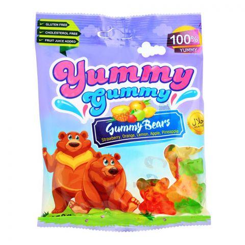 Yummy Gummy Jelly Gummy Bears, Gluten Free, 150g