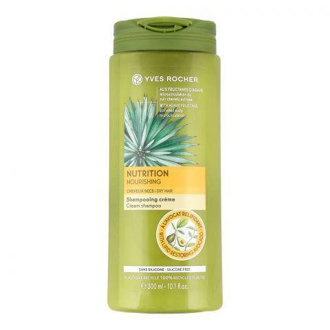 Yves Rocher Nutrition Nourishing Cream Shampoo, Silicone Free, 300ml