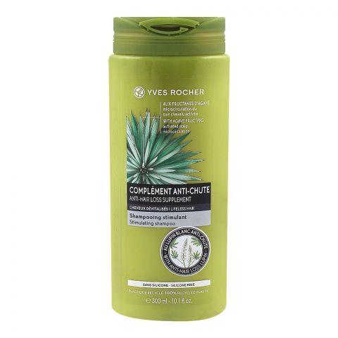Yves Rocher Anti-Chute Anti-Hair Loss Stimulating Shampoo, Silicone Free, 300ml