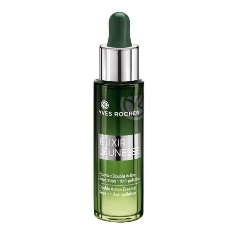 Yves Rocher Elixir Double Action Essence Repair + Anti Pollution Serum, 30ml