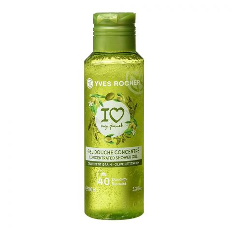 Yves Rocher I Love My Planet Concentrated Shower Gel, Olive Petit Grain, 100ml