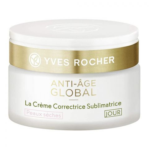 Yves Rocher Anti-Age Global Beautifying Day Cream, All Skin Types, 50ml