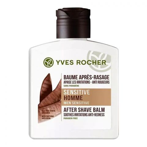 Yves Rocher Men Sensitive Homme After Shave Balm, Paraben Free, 100ml