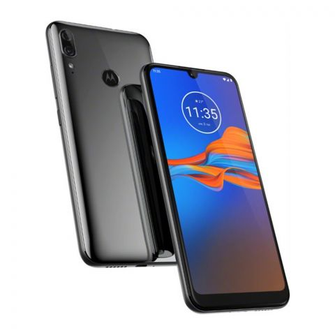 Motorola Moto E6 Plus 4GB/64GB Gris Metal Smartphone