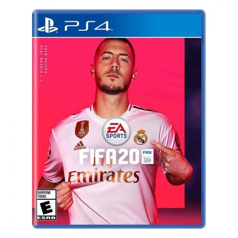 PS4 FIFA 20 Standard Edition Game DVD