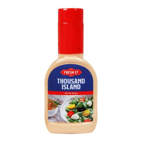 Fresh Street Thousand Island Dressing, 237ml, Pet Bottle