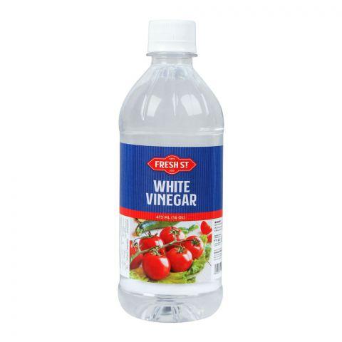 Fresh Street White Vinegar, 16oz, 473ml, Pet Bottle