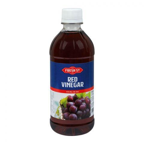 Fresh Street Red Vinegar, 16oz, 473ml, Pet Bottle