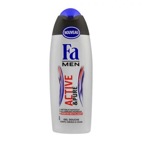 Fa Men 3-In-1 Active & Pure Shower Gel, 250ml