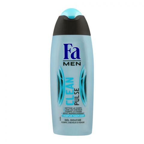 Fa Men 3-In-1 Clean Pulse Shower Gel, 250ml