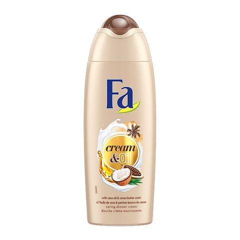 Fa Cream & Oil Coconut Shower Cream, 250ml