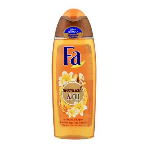 Fa Sensual & Oil Argan Vanilla Shower Gel, 250ml