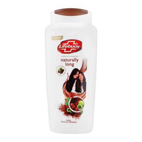 Lifebuoy Naturally Long Amla Reetha & Shikakai Strength Shampoo, 650ml