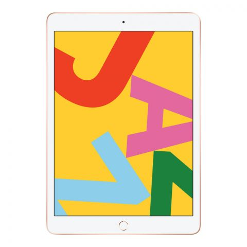 Apple iPad (7th Gen, 2019), 10.2 Inches, 32GB, WiFi Only, Gold, MW762LL/A
