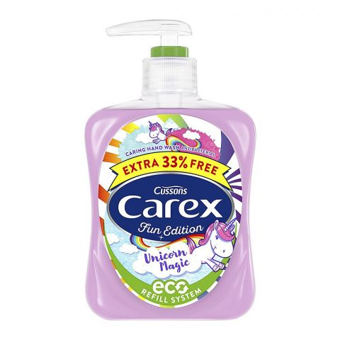 Carex Fun Edition Unicorn Magic Antibacterial Hand Wash, 333ml