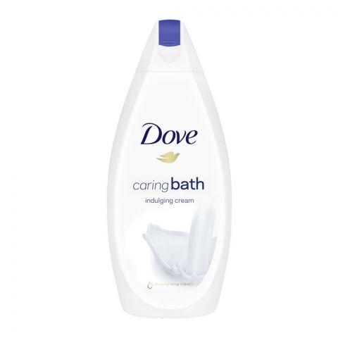 Dove Caring Bath Indulging Cream Shower Gel, 450ml