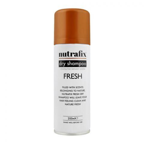 Nutrafix Fresh Dry Shampoo, 200ml